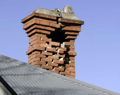 common masonry repairs for chimneys