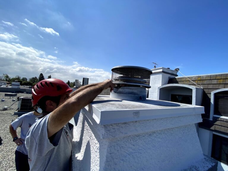 Fireplace Solutions The Chimney Sweeper Chimney inpsection Los Angeles 4 | Chimneys