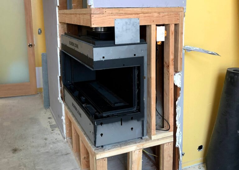 Fireplace Solutions The Chimney Sweeper Gas Fireplace Installation 3 | Services
