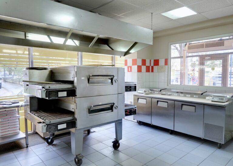 pizzeria kitchen BN6AJ4R 5X7   Pizza Ovens & Grills